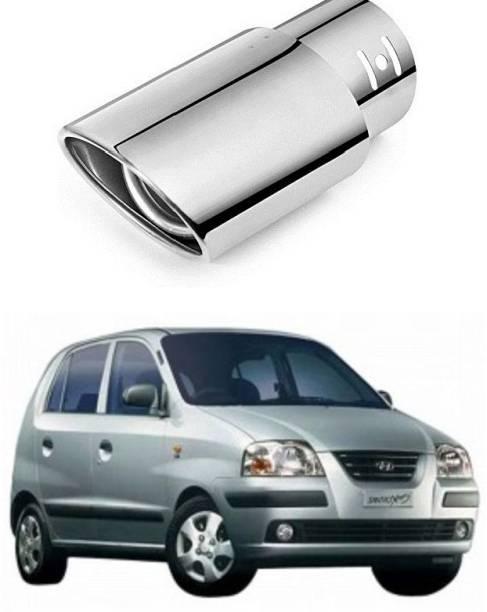 PRTEK Car Exhaust Tube in Tube-Silencer Muffler Tip for All Cars (Universal) 0056  Car Silencer