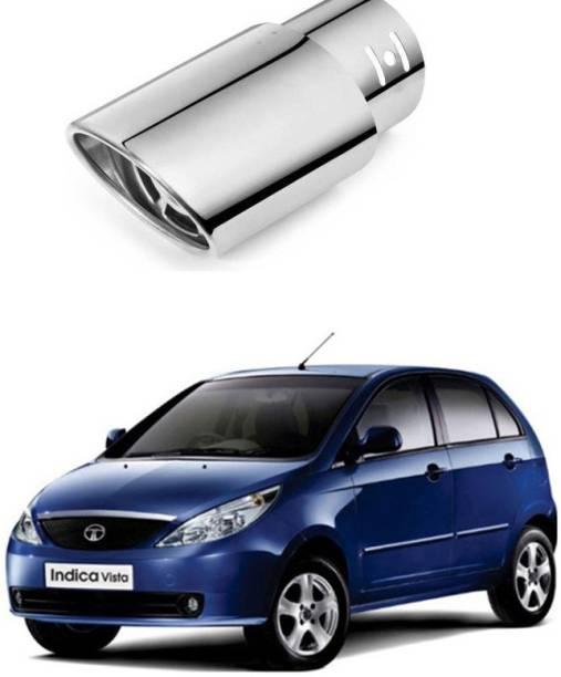 PRTEK Car Exhaust Tube in Tube-Silencer A Muffler Tip for All Cars (Universal) 0086  Car Silencer