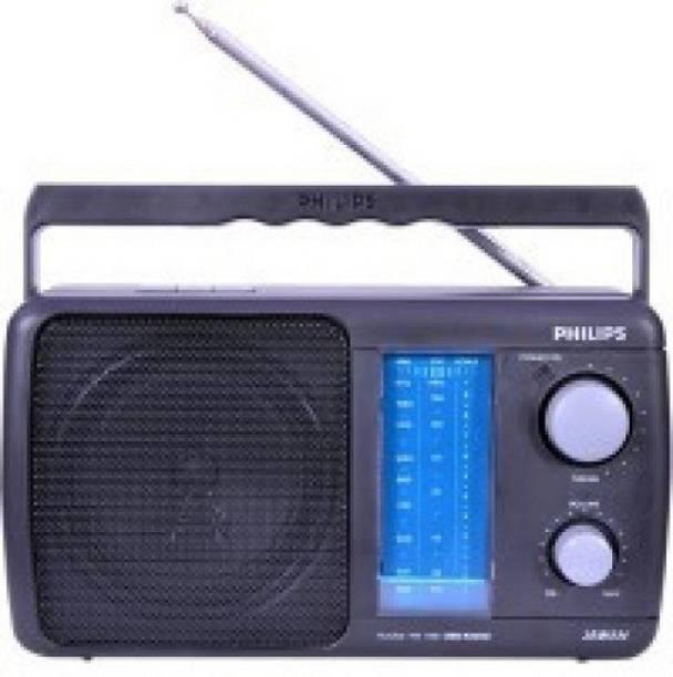 PHILIPS PORTABLE FM RADIO WITH BATTERY ALSO FM Radio