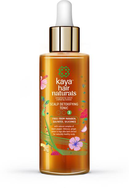 KAYA CLINIC Scalp Detoxifying Tonic (Hair Tonic) - No Paraben, Sulfates and Silicones