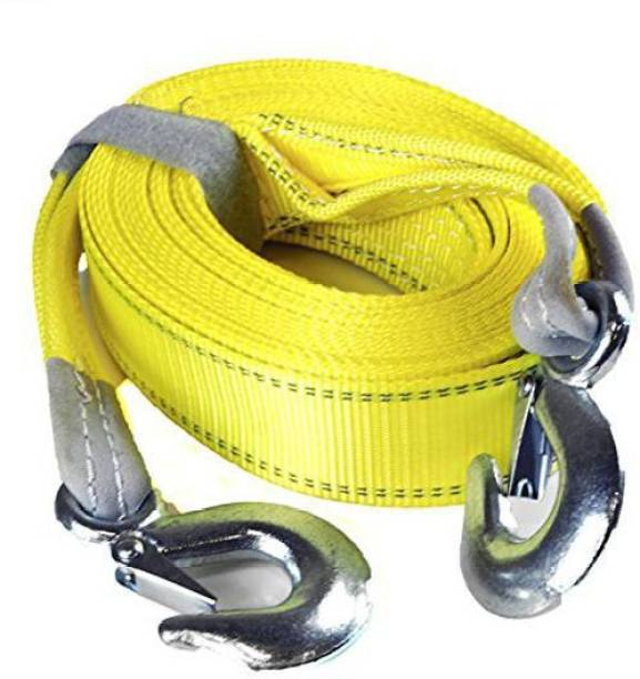 Chromoto ™ Car Tow Rope Straps with Hooks-5 Tons 4 Meters(13.12ft) 4.5 m Towing Cable