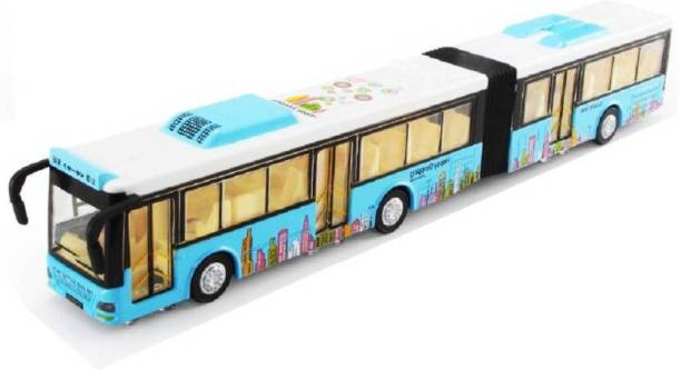 Alpyog Double Decker Metal Bus with Light and Music For Kids(Above 3 yrs)