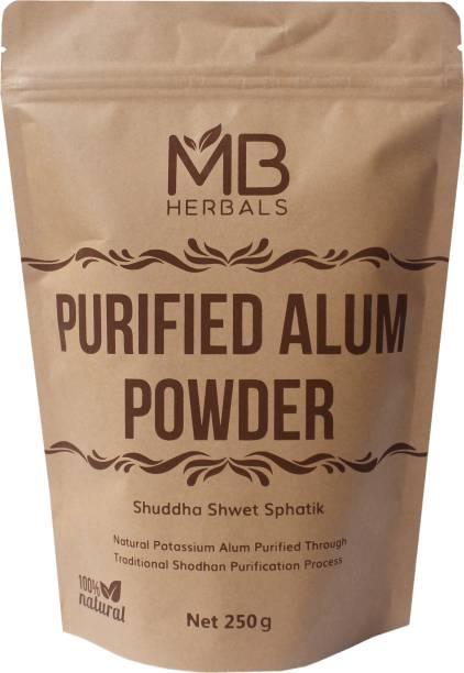 MB Herbals Alum Powder