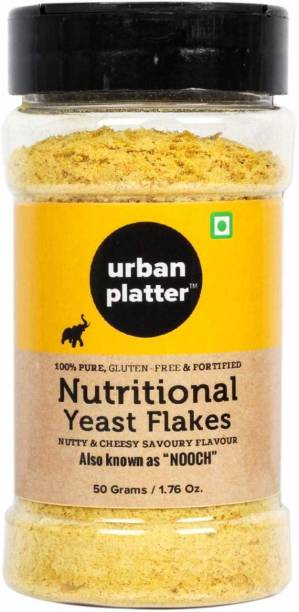 urban platter Nutritional Yeast Flakes [Also Known as Nooch, Gluten Free, Nutty Flavour] Yeast Solid