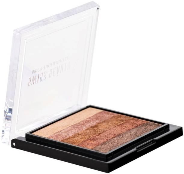 SWISS BEAUTY Blusher Highlighter Brick Shade-1