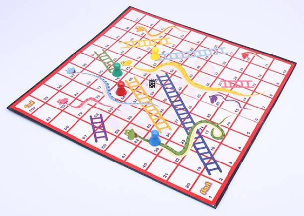 FUNSKOOL Snakes and Ladders Strategy & War Games Board Game