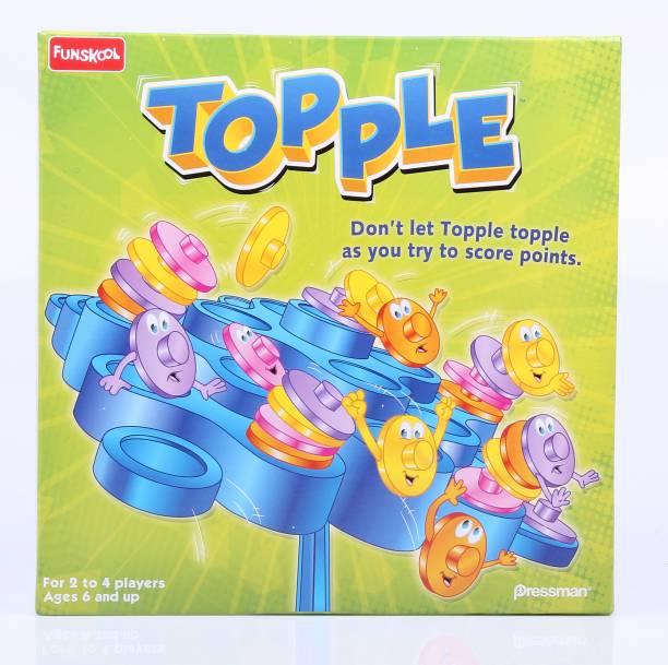FUNSKOOL Topple Party & Fun Games Board Game