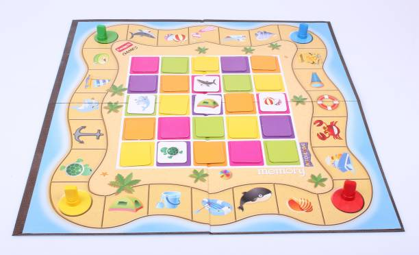 Funskool Match and Move Memory Board Game