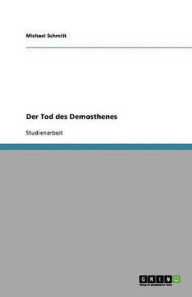 Der Tod des Demosthenes