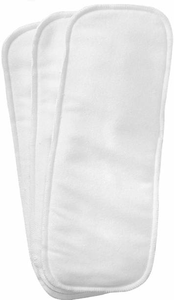 Wonder Star Washable for Baby Pad Diapers, (3- Pieces Combo) - S - M