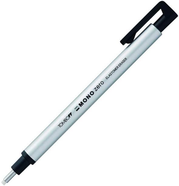 Tombow Mono Zero Round Shapre Silver Eraser