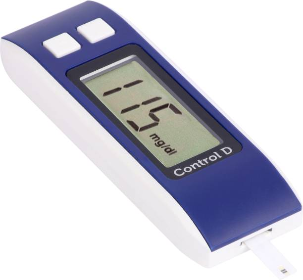 Control D Blue Meter Kit with 25 Strips Glucometer