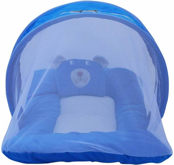 Hanu Enterprises Nylon Infants BABY MATTRESS WITH MASQUITO NET Mosquito Net