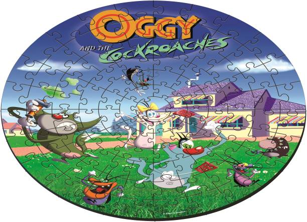 FUNSKOOL Oggy 103 Pieces Puzzle