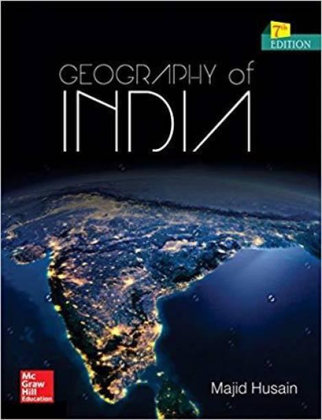 7TH EDITION Bharat Ka Bhugol(Civil Seva/Rajya Seva Ki Prarambhik Evam Mukhya Pariksha)BY MAJID HUSSAIN ,BEST BOOK IN INDIAN GEOGRAPHY,BEST BOOK FOR PREPRATION (ENGLISH MEDIUM)McGrawHill