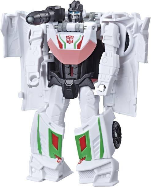 TRANSFORMERS Cyberverse Action Attacker 1 Step Wheel Jack Action Figure