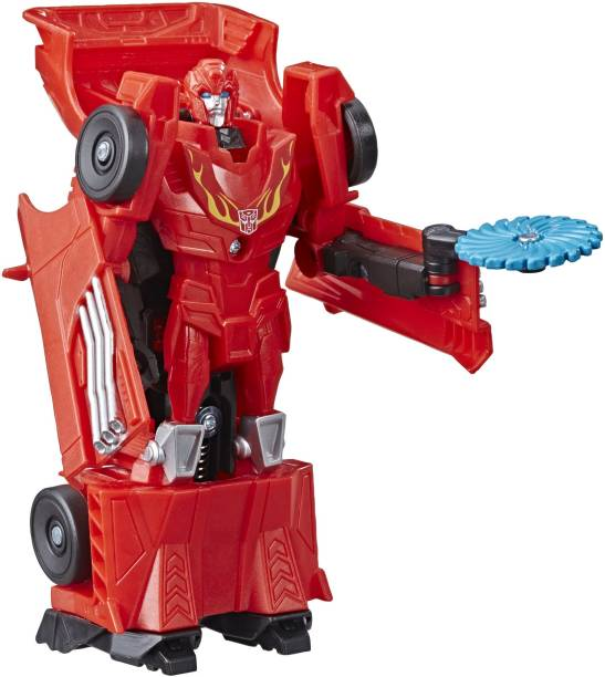 TRANSFORMERS Cyberverse Action Attackers 1-Step Changer Hot Rod Action Figure