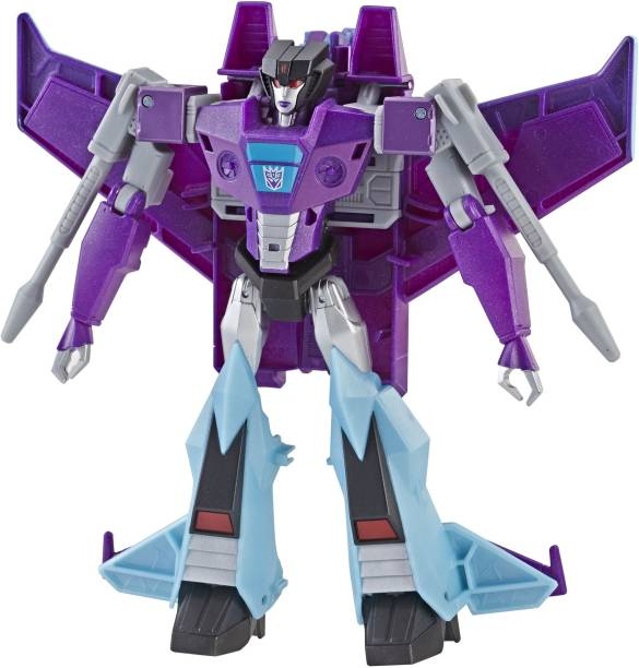 TRANSFORMERS Cyberverse Action Attackers: Ultra Class SlipstreamAction Figure Toy