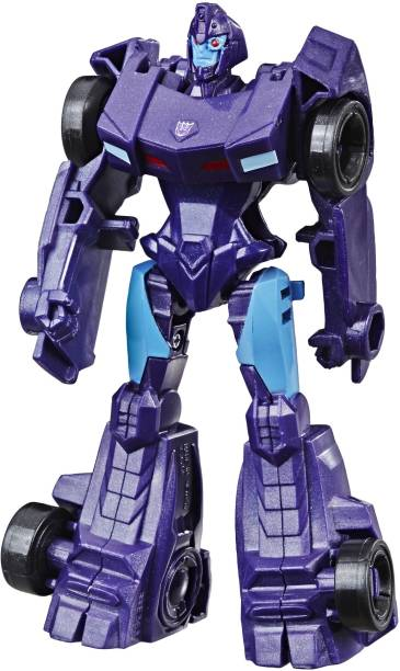 TRANSFORMERS Cyberverse Action Attackers:Scout ClassShadow Striker Action Figure Toy