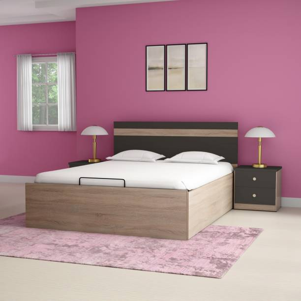 Godrej Interio Zen Engineered Wood King Hydraulic Bed