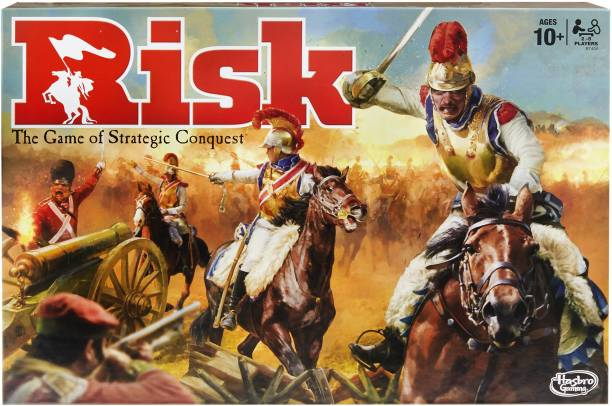 HASBRO GAMING Risk The Game of Strategic Conquest Strategy & War Games Board Game