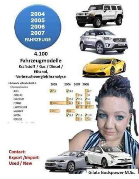 2004, 2005, 2006, 2007, Fahrzeug