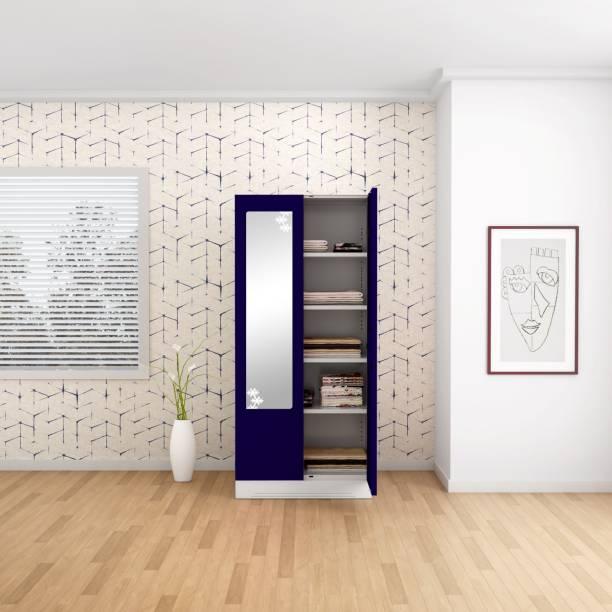 Godrej Interio Slimline 2 Door 4 Shelf Metal Almirah