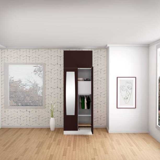 Godrej Interio Slimline 2 Door With Locker Metal Almirah