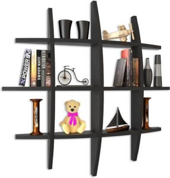 Aaliya mart utility wall shelf Engineered Wood Display Unit