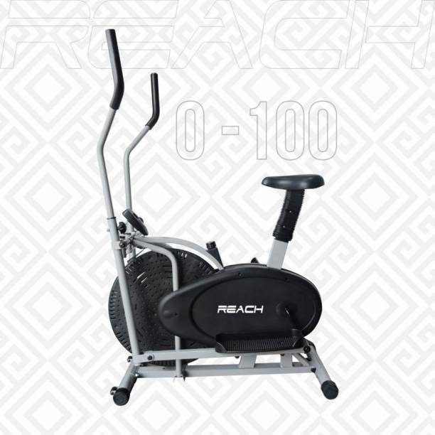 Reach O-100 Orbitrek Elliptical Cross Trainer Stationary Fitness Cycle Exercise Bike Dual-Action Stationary Exercise Bike