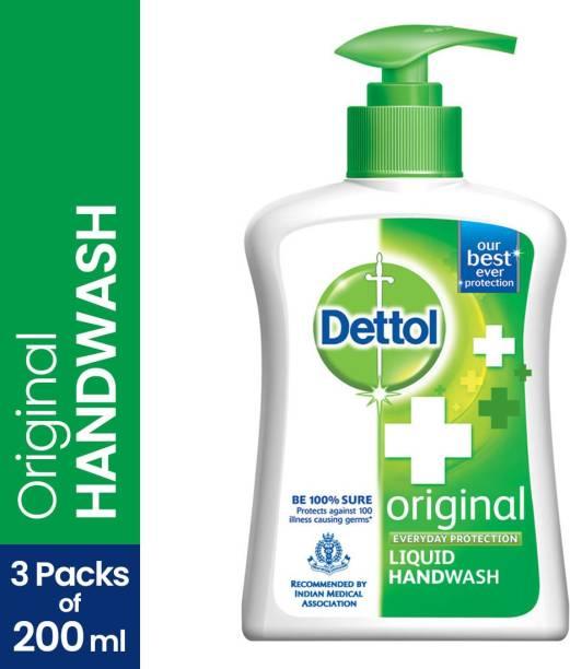 Dettol Liquid Handwash Pump, Original Hand Wash Pump Dispenser