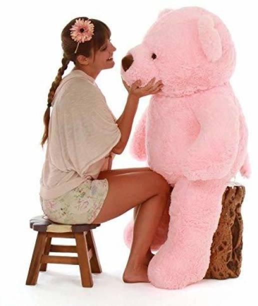 Tedstree 3 feet pink sasta gudda aur bada guda gift cutai pidu Mr sitaram teddy bear and anniversary gift  - 90.2 cm