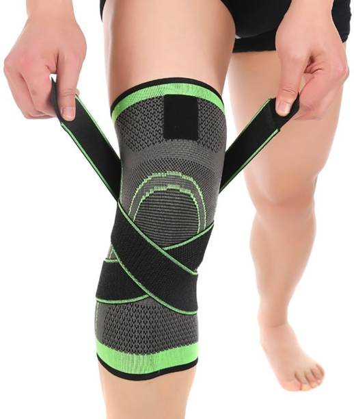 Wonder World Side Stabilizers & Patella Gel Pads for Knee Support Knee Support