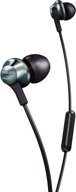 PHILIPS PRO6105BK/00 Rich Bass Wired Headset