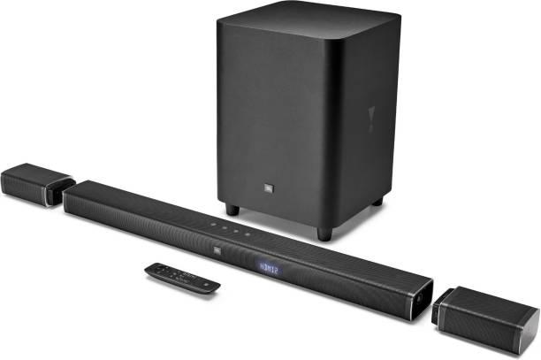 JBL BAR51 Dolby Digital DTS with (Wireless Speakers and subwoofer & 4k Surround Sound) 510 W Bluetooth Soundbar