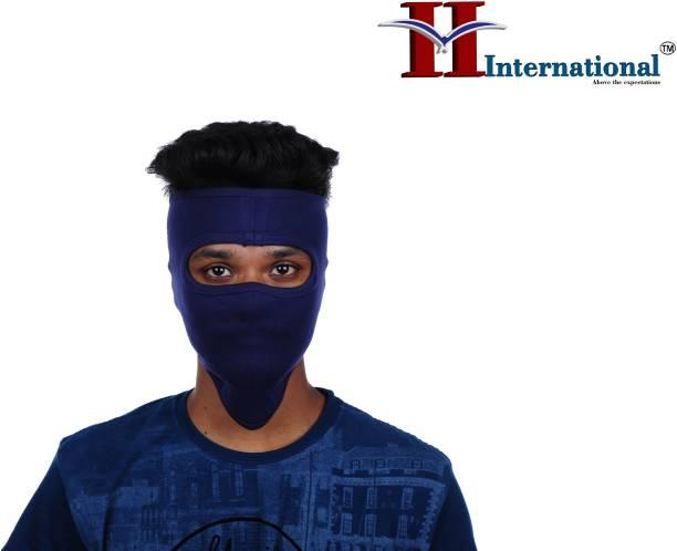 H International Blue Bike Face Mask for Men & Women