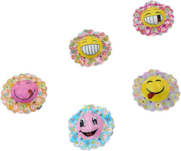 One Personal Care Emoji Emoticons Inspired Pretty Mini Hat Barrettes For Babies Hair Accessory Set