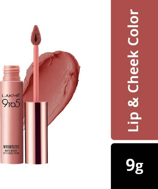 Lakmé 9 to 5 Weightless Mousse Lip & Cheek Color