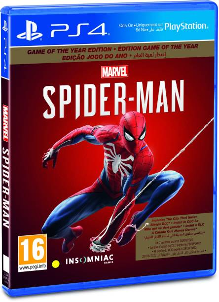 Marvel's Spider Man (Game of the Year Edition)