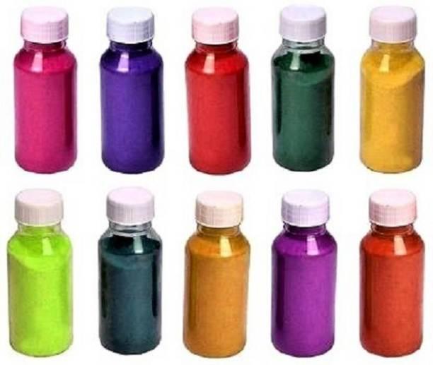 calzino Pack of 10 Rangoli Powder
