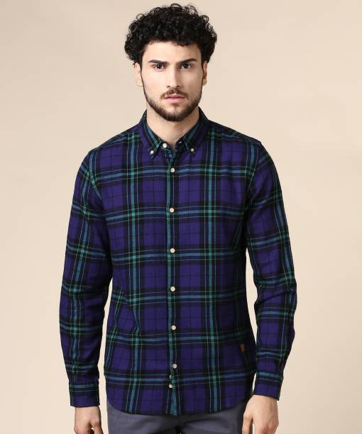 United Colors of Benetton. Men Checkered Casual Multicolor Shirt