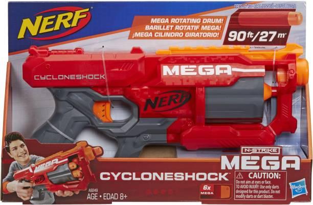 Nerf NSTRIKE MEGA CYCLONESHOCK Guns & Darts