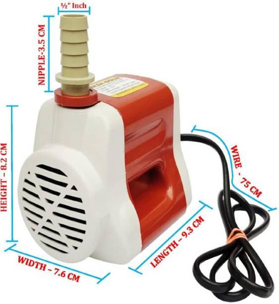 Aksha Gold Submersible Cooler pump Head-1.80Meter-Power 18Watt Used In Cooler-Fountain-Aquarium Etc. Water Aquarium Pump