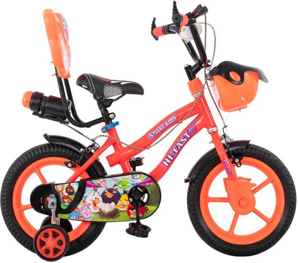 Hi-Fast Kids Bicycles For 2 Years to 5 Years (Semi Assembled)  14 T Road Cycle