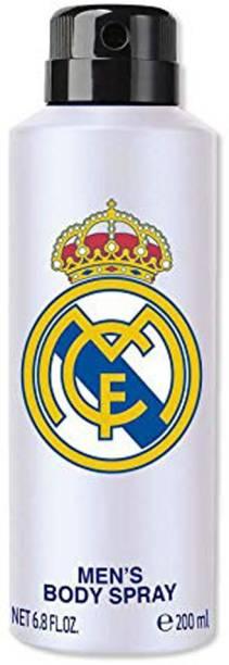 Real Madrid Body Spray Perfume for Men White Deodorant Spray  -  For Men