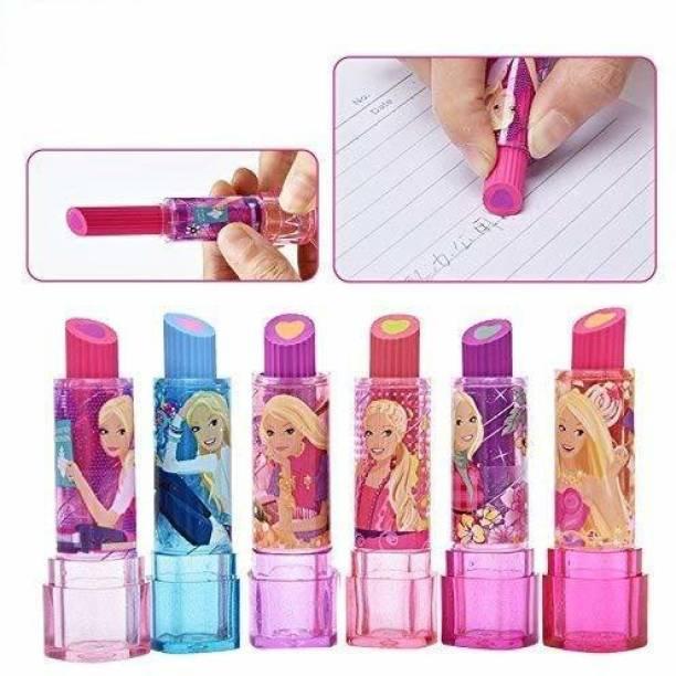 ASU Girl's Cartoon Lipstick Style Eraser Eraser
