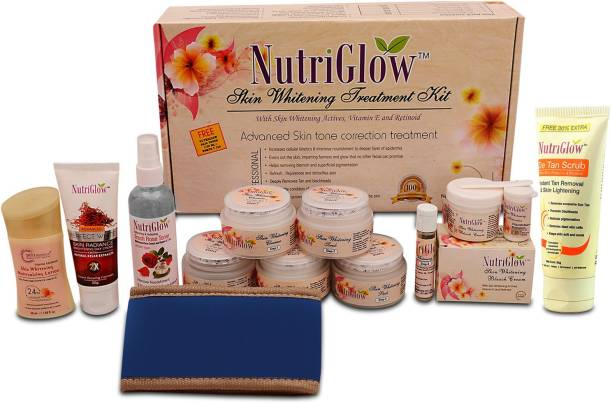 NutriGlow Skin Whitening Treatment Facial Combo