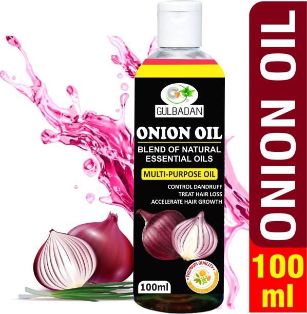 GULBADAN Premium Onion Oil for hair growth and skin care 100 ml Hair Oil