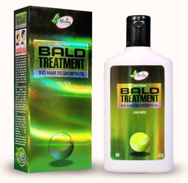 Alcamy Bio Tech Bald Treatment Hair Oil (For Men & Women)