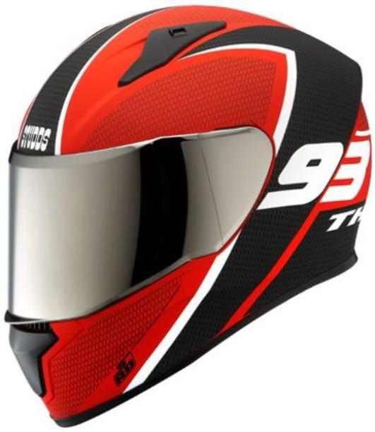 STUDDS THUNDER D3 FULL FACE WITH MIRROR VISOR Motorbike Helmet